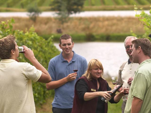 Wine & Outdoor Dinning Photos