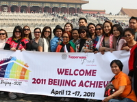 Group Tour During Visit Beijing