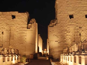 Sound & Light Show at Karnak Temple in Luxor Fotos