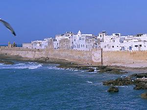 Sea side Esaaouira city