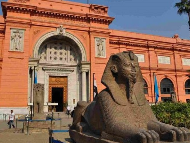 Giza Pyramids & The Egyptian Museum Photos