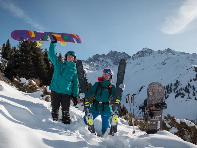 "Freeride on ""Ak-Bulak"" Ski Resort Photos"