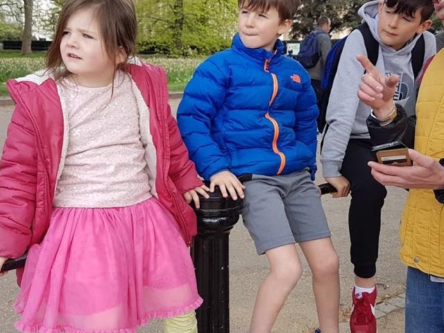 Private Family Bike Tour of London Photos