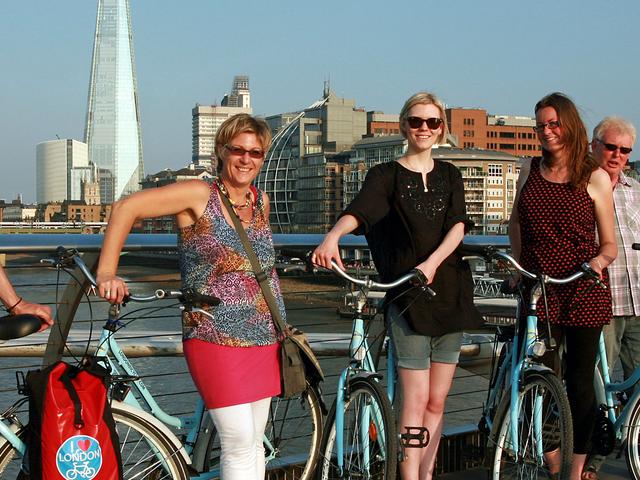 Love London Bicycle Tour Photos