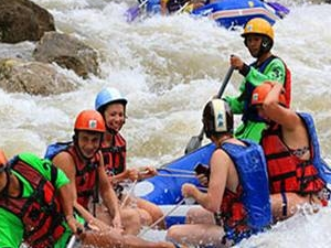 PHUKET : Join Tour Full Day White water Rafting+Elephant trekking with Lunch Fotos