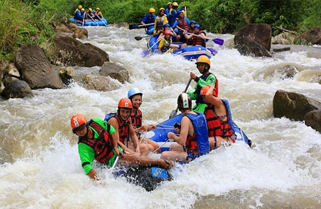 PHUKET : Join Tour Full Day White water Rafting+Elephant trekking with Lunch Photos