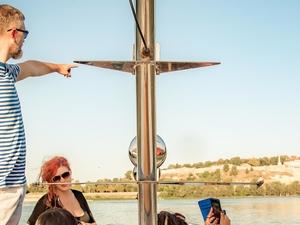 Private Boat Tour on Belgrade Confluence