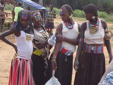 Benna Women At Key Afar Market