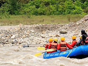 Nepal 6 Days Adventure Tour with Whitewater Rafting and Paragliding Fotos
