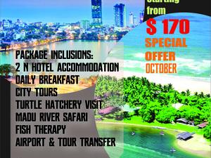Special Offer in October