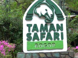 Safari Park and Tea Plantation in Bogor, Indonesia