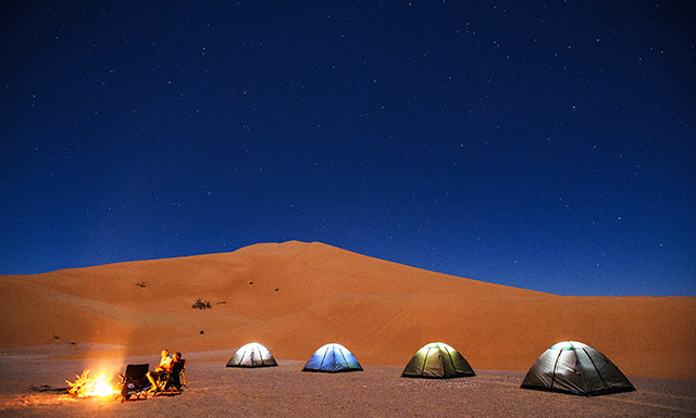 OverNight in the Empty Quarter Desert Photos