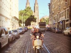 Scooter tour of Hidden Prague Photos