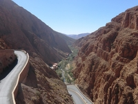 The Road To Dades Gorges