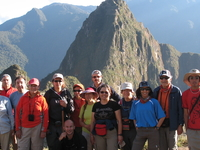 Machupicchu And Gourp Of Our Company