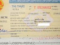 Vietnam Multiple Entries Visa