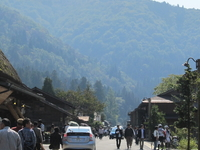 The Main Street Of Shirakawa-go