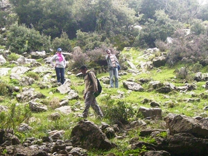Hiking in the National Park of Talassemtane Photos