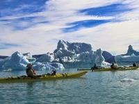 Kayaking Amongst Greenland S Icebergs 41 1391119731