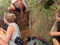 Break Time On Kalalau Trail