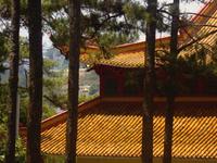 A Pagoda In Dalat City