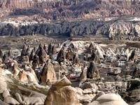 Cappadocia Turkey General View