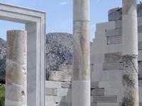 Naxos Island Cyclades Greece Demetra Temple