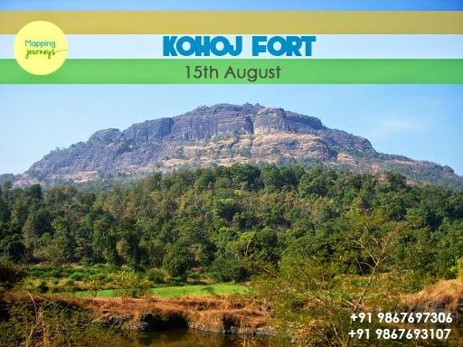 Independence Day Trekking to Kohoj Fort Photos