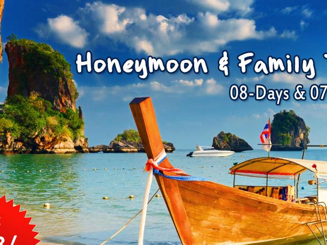 Thailand Honeymoon & Family Tour Photos