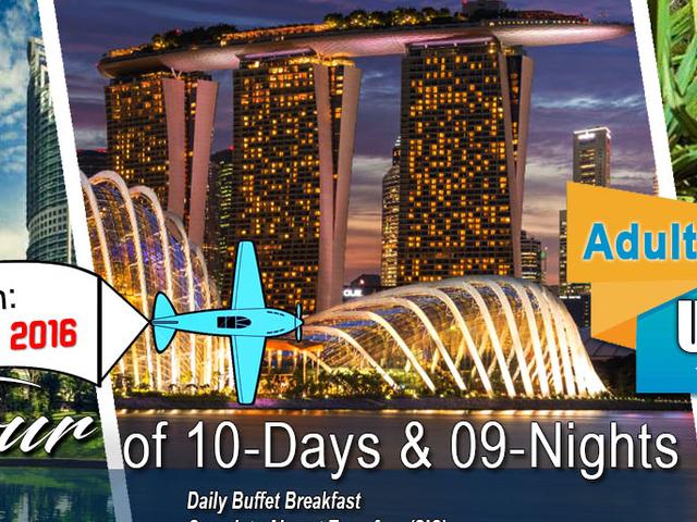 3 Countries Group Tour of Singapore, Malaysia & Thailand Photos
