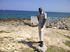 On One Of Jamaica's Beaches