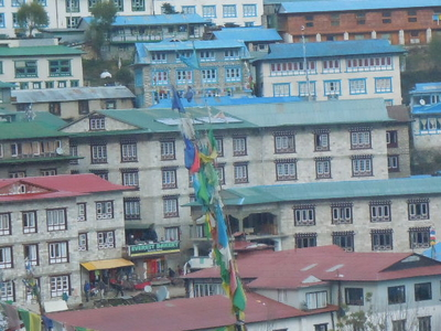 Namche Bazar Get Way To Mount Everest And This Is Asherpa Hub Too.