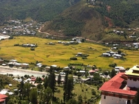 Ta Dzong View And Ride Downhill