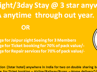 Best Deal For Hotel Booking Throughout India!!!!!!