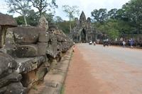 Way To Angkor Wat