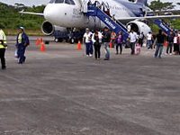 Arrival At Puerto Maldonado Airport