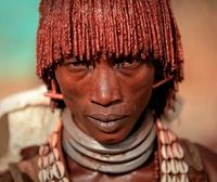 The Braided Bob Is Quite Popular Among The Kolcho Tribe Women Of Ethiopia