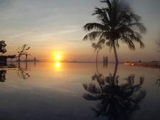 Sunset From Luwansa Beach Resort