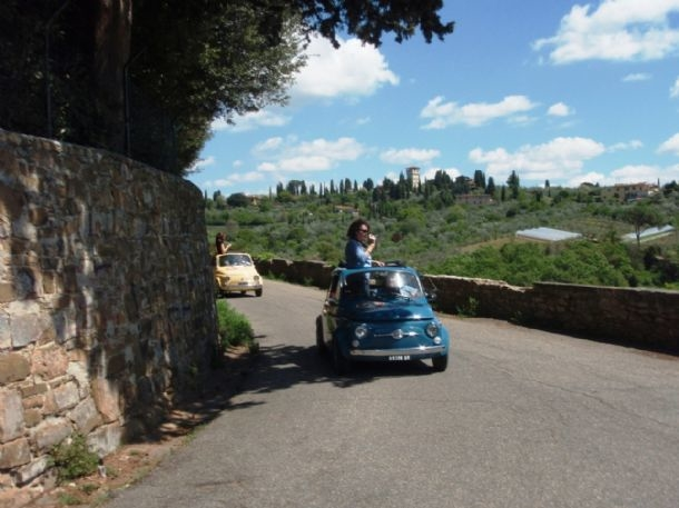Fiat 500 Tour in Florence Photos