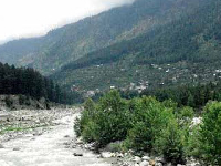 Roadside Views On The Way To Rohtang From Manali Himachal Pradesh 1