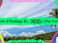 Goa Best Deal Sep Per Person cost with Flight