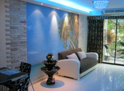 Luxury Apartments with 1 Bedroom & Living Room Photos