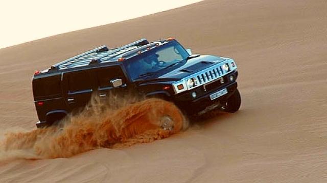Hummer Desert Safari Tour Dubai Photos