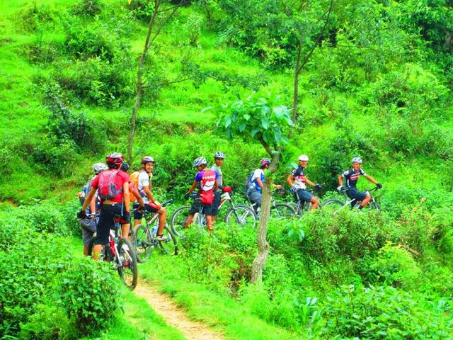 Kathmandu Valley Biking Photos