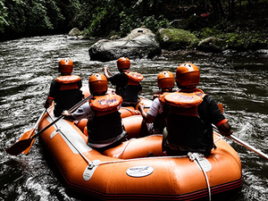 Bali-Ubud White Water Rafting & Tubing Adventure