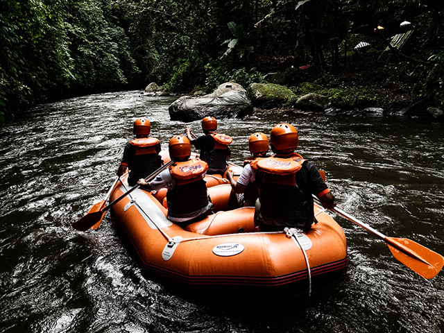 Bali-Ubud White Water Rafting & Tubing Adventure Photos