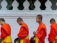 Alms Giving, Laos