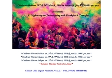 Celebrate Holi In Jaipur @ Just Rs. 3800/-