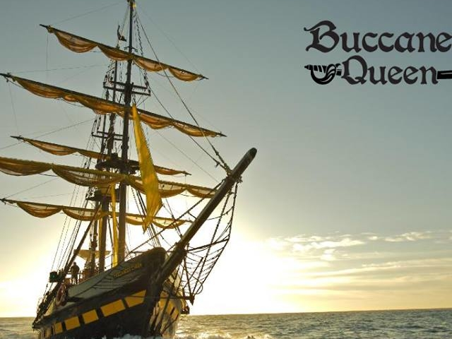 Buccaneer Queen Adventure at Dusk Photos