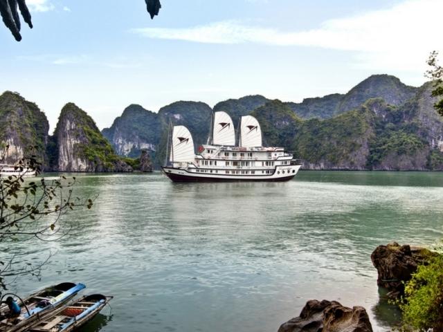 Signature Halong Cruise - Halong Bay Sailing Photos